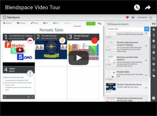 Blendspace quick start video